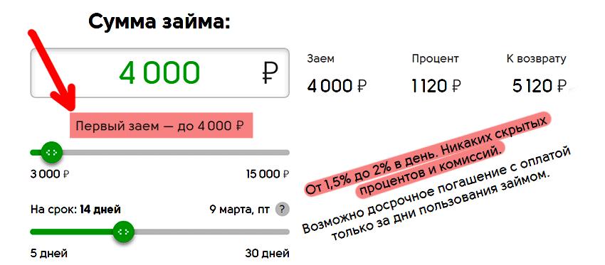Отп калькулятор кредита наличными 2020
